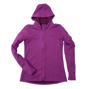 Under Armour UA Hooded Jacket Full Zip Purple